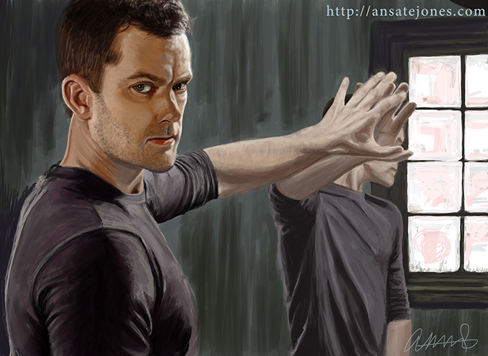 Joshua Jackson as Peter Bishop in Fringe. Reference provided by FOX.